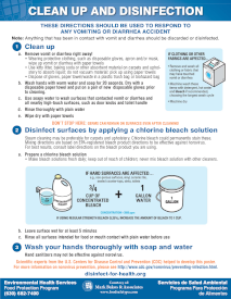 Cleanup Guide for Vomit and Diarrhea